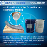 Moule Making Polyaddition Liquid Silicone Rubber pour Grc Gfrc Molds