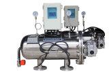 Filtro de pantalla automático de la limpieza de cepillo del motor de la succión del retiro sólido