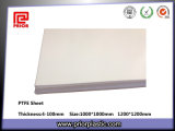Virgin 100% PTFE Sheet, Teflon Sheet con White Color