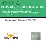 Het natuurlijke Uittreksel van de Installatie - Resveratrol Uittreksel 50%, 98%
