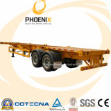 40feet Flatbed Container Semi Trailer com 2 Axle/3 Axle