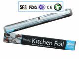 Rodillo del papel de aluminio de Ovenable de la longitud de la aleación 8011-0 0.015X150m m el 150m