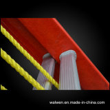 En131ガラス繊維の望遠鏡の梯子のCabelの梯子のステップ梯子
