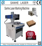 Máquina de la marca del laser del CO2 para la tela y los Adv. Suspiros