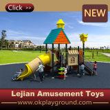 Bevorzugungs-im Freien Plastikspielplatz-Gerät der Cer-Kinder (X1509-8)