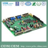 Tarjeta de circuitos sin hilos del teclado de la tarjeta de circuitos del PWB LED de la tarjeta de la muestra del esquema circular LED