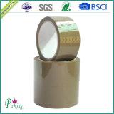 Fita humanizada acrílica material da embalagem do ruído de Brown BOPP baixa