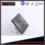 Placa de aquecedor de cerâmica infravermelha plana