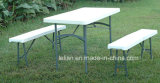 Gargen extérieur Rectangle Square Folding HDPE Table avec Different Size