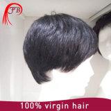 Peruca cheia do laço do cabelo humano do Toupee 100% dos homens