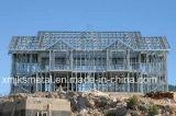 가벼운 강철 구조물 Prefabricated 별장 물자