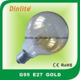 G95-, Frost-weiße und goldene Glühbirne löschen