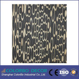 텔레비젼 Background를 위한 Wall 장식적인 Covering 3D Wave MDF Wall Panel