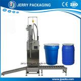 barril 50-300kg y tambor automáticos que pesan la máquina de rellenar líquida