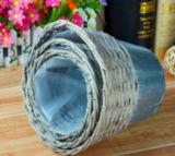 Flowerpot нового цвета конструкции серого Handmade Wicker для планировать в саде