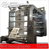 Maquinaria de impresión flexográfica de papel de cuatro colores (CE)