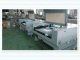 Automatischer Geschwindigkeit-Laser-Ausschnitt und Gravierfräsmaschine