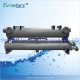 Condenseur de coquille et de tube d'échangeur de chaleur et d'échappement d'eau