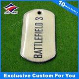 Tag de chien en métal gravé Créez des étiquettes en métal avec un logo personnalisé