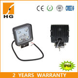 Offroad를 위한 4.6inch 세륨 Approved Square 27W LED Work Light