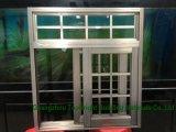 Doble esmaltado resbalando la ventana de aluminio comercial