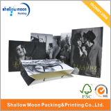 Bolso de compras de papel de sellado caliente modificado para requisitos particulares de las marcas de fábrica (QYCI1527)