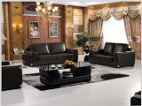Hotel FurnitureのためのGenuine Leatherの現代Leather Sofa Furniture