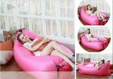 Présidence paresseuse gonflable imperméable à l'eau pliable utile de sofa de garçon de sac de couchage de banane de lieu de visites de sac d'air de sommeil