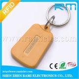 corrente chave do ABS RFID da microplaqueta de 13.56MHz F08/Tag de Keyfob para o controle de acesso
