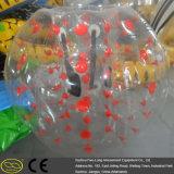 De grappige Gekke Kleurrijke Bal van de Bel van het Voetbal van de Gymnastiek van de School