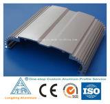 Profil en aluminium d'alliage d'extrusion pour l'industrie, matériau de construction