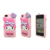 iPhone 4GS/5gのための工場Price Cartoon Soft Silicone Phone Case