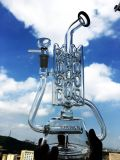 卸し売り再資源業者の軽打はビーカーのガラス煙る配水管を装備する
