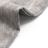 De zwarte Stof van het Katoenen Denim van de Polyester voor Jeans