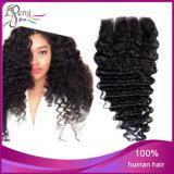 Человеческие волосы волны человеческих волос верхнего качества глубокие