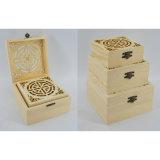 Коробка ювелирных изделий лака отделки рояля деревянная