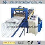 A melhor maquinaria de aço de venda do material de construção da telha que faz o fabricante