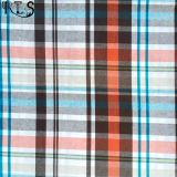 Baumwollcheck-Popelin-Garn färbte gesponnene Gewebe-Checks auf Hemden/Kleid Rlsc21-1
