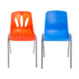 Стул пластмассы & металла оптовой цены цветастый для офисной мебели с верхним качеством