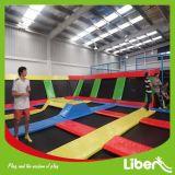 Parque barato enorme profissional dos Trampolines da ginástica dos jogos de Indoor&Outdoor com associação da esfera, poço da espuma para a venda