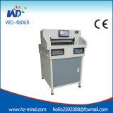 Fabricante profesional Papel programa de control de la máquina de corte (WD-4806R 18 pulgadas)
