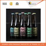 Sticker van de Fles van de Drank van de Wijn van de Kleur van de Druk van het etiket de Zelfklevende Diepe