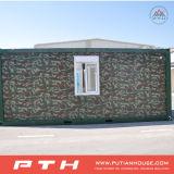 軍隊のキャンプのためのカスタマイズされたフラットパックの容器の家