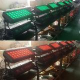 36X10W RGBW 4in1 LED Stadt-Farben-Wand-Wäsche DMX
