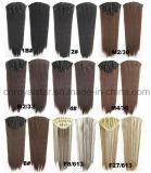 Синтетический прямой зажим парика Двойн-Цвета 1/2 в выдвижении 7 PCS волос