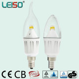 2200k 95ra 4W C35 LED Candle Bulb für Chanderlier Lighting