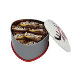 Lata de lata pequena do metal da embalagem da porca do produto comestível dos feijões (T001-V6)