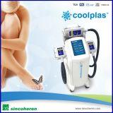 減量の美容院機械を細くするCoolplas Cryolipolysis Coolshape Kryolipolysis Criopolysisの脂肪質のフリーズの高度ボディ