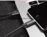 TPE дышая USB обязанности и Sync индикатора СИД кабель светлым для iPhone