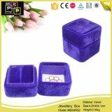 O favorito personaliza a série da caixa do anel de veludo (8034R21)